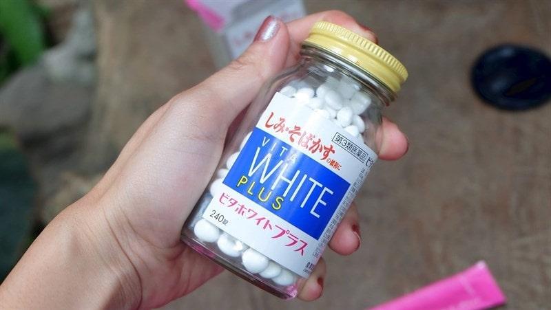 Viên uống Vita White Plus của Nhật