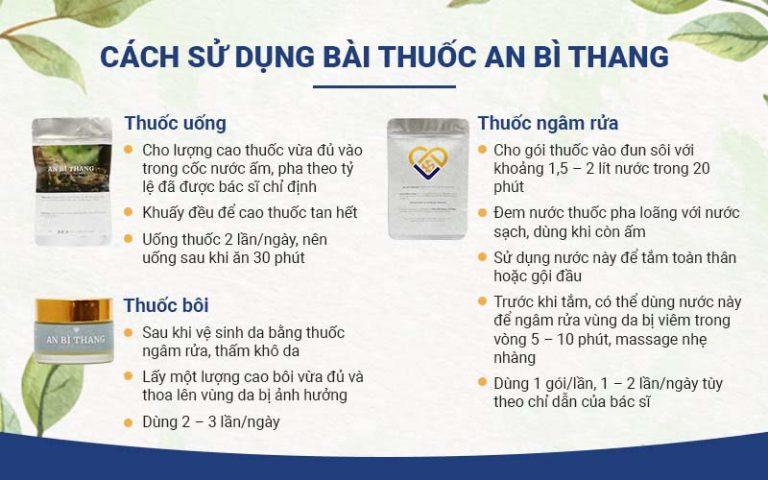 An Bì Thang có các sử dụng đơn giản, tiện lợi
