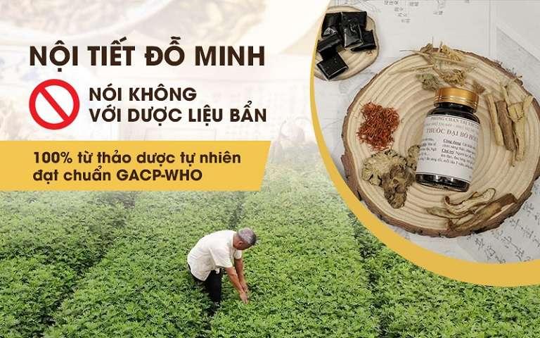 Nhà thuốc Đỗ Minh Đường cam kết nói không với dược liệu bẩn