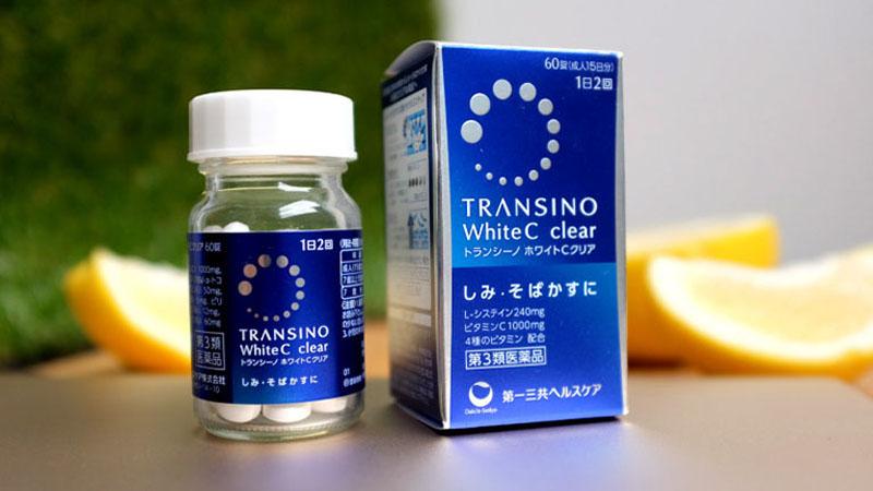 Transino White C giúp ngăn chặn sự hình thành của sắc tố melanin