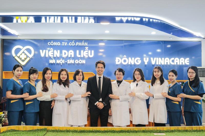 Trung tâm Da liễu Đông y Việt Nam đã chính thức đổi tên thành Viện Da liễu Hà Nội - Sài Gòn