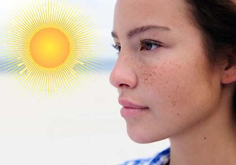 Melanin bảo vệ da trước ánh sáng mặt trời