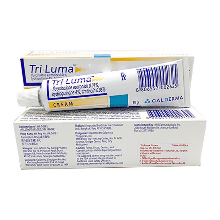 Thuốc trị sạm da Tri - Lume Cream