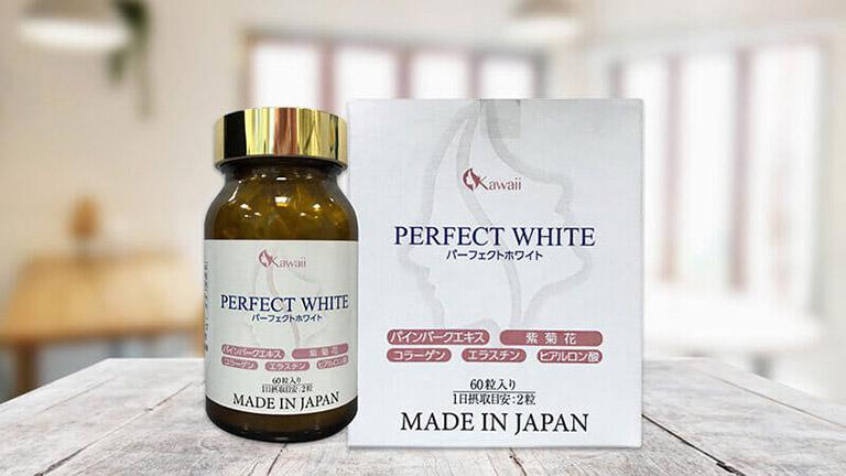 Viên uống trị sạm da Perfect White