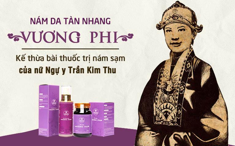 Vương Phi là sản phẩm độc quyền của Trung tâm Da liễu Đông y Việt Nam