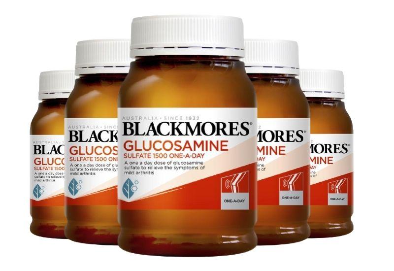 Sản phẩm Blackmores Glucosamine 1500mg của Úc 180 viên