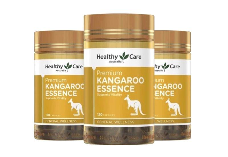 Healthy Care Kangaroo Essence giàu dinh dưỡng, vitamin tăng cường sinh lực nam