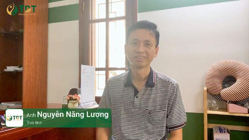 Bệnh nhân Nguyễn Năng Lượng chia sẻ về hiệu quả bài thuốc Sơ can Bình vị tán