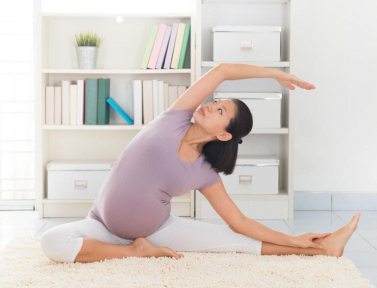 Hãy tập Yoga để phòng ngừa và điều trị mất ngủ ở mẹ bầu hiệu quả