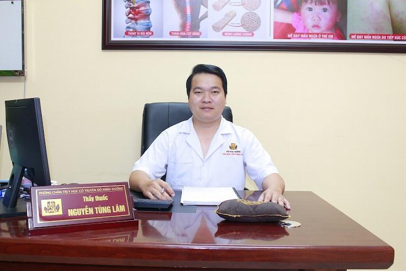Bác sĩ Lâm được coi là chuyên gia y học cổ truyền về điều trị bệnh liệt dương