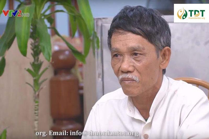 Bác Thành chia sẻ hành trình chữa bệnh tại Thuốc dân tộc trên sóng VTV2