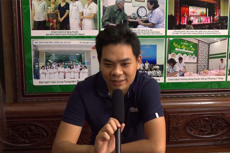 Anh Mạnh chia sẻ kết quả điều trị đau dạ dày tại Thuốc dân tộc