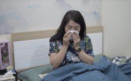 DV Thanh Tú thường xuyên bị hắt hơi, sổ mũi vào sáng sớm