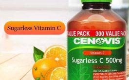 Cenovis Vitamin C sản phẩm vitamin tan trong nước, có tên quốc tế là Acid Ascorbic