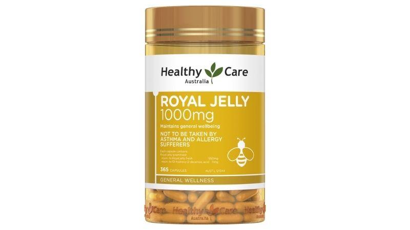Viên uống sữa ong chúa Healthy Care Royal Jelly