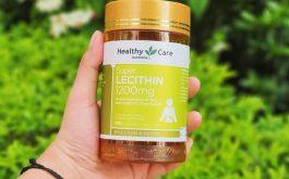 Healthy Care Super Lecithin là gì? Công dụng, giá bán ra sao?