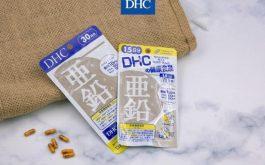Viên uống bổ sung Kẽm DHC Zinc 60 viên: Thành phần và công dụng chính