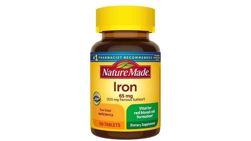 Viên uống Nature Made Iron