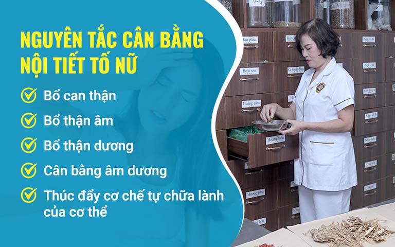 Nguyên lý điều trị rối loạn nội tiết với bài thuốc của bác sĩ Đỗ Thanh Hà