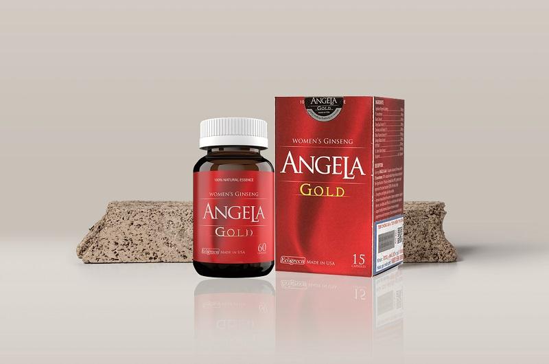 Angela Gold được chiết xuất từ nhiều thành phần tự nhiên