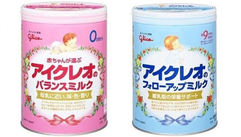 Sữa Glico Nhật Bản được nhiều người tin dùng
