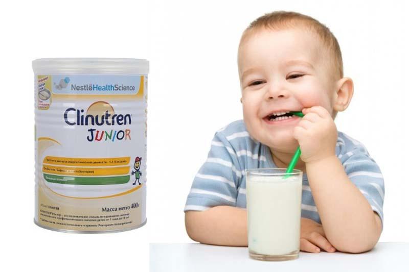 Sữa tăng cân cho trẻ Clinutren Junior có giá bán rất hợp lý