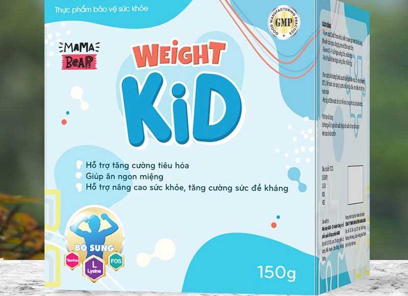 Sữa tăng cân Weight Kid hương vani nên rất thơm ngon và dễ uống