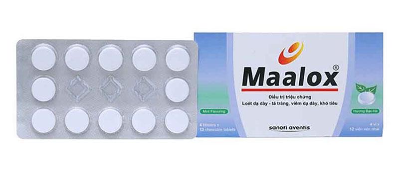 Thuốc trung hòa dịch vị dạ dày Maalox có tính hiệu quả cao