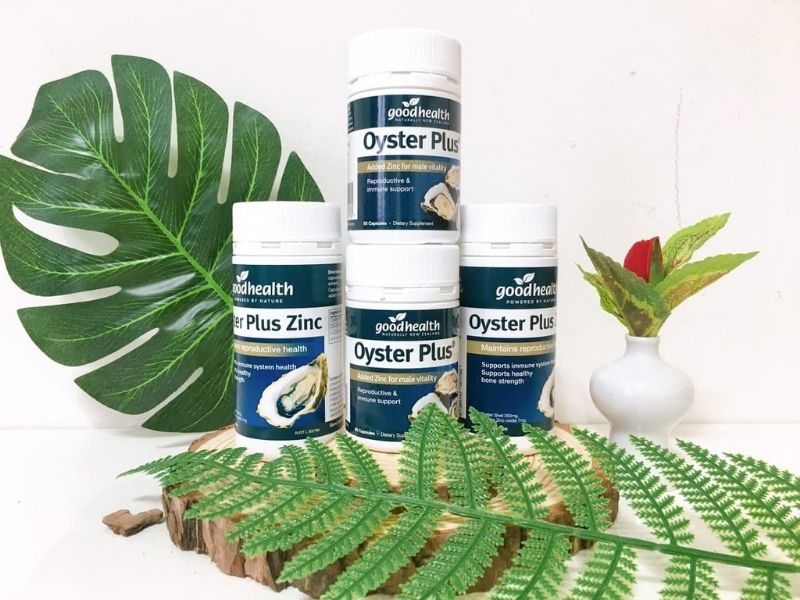 Sản phẩm Oyster Plus giúp tăng số lượng và chất lượng tinh binh