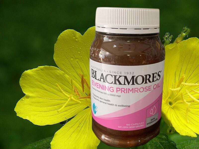 Blackmores Primrose Oil có thành phần chính là tinh dầu hoa anh thảo