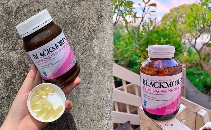 Blackmores Primrose được bào chế dạng viên nang mềm giúp hấp thu nhanh