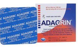 Adagrin là thuốc gì? Tìm hiểu về thành phần và công dụng với sức khỏe