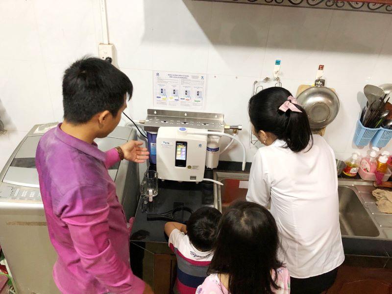 Rất nhiều khách hàng khi mua máy lọc nước ion kiềm tại Vua Điện Giải cảm thấy hài lòng với dịch vụ ở đây