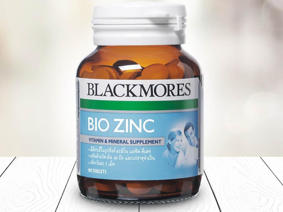 Viên kẽm Blackmores Bio Zinc được dùng theo liều lượng 1 viên uống mỗi ngày
