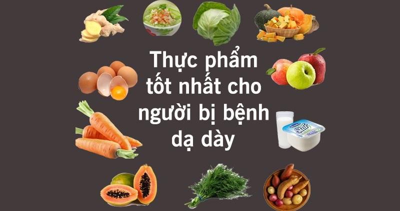 Một số thực phẩm có tác dụng hỗ trợ tốt cho người bệnh bị dư axit dạ dày