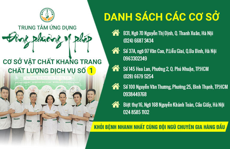 Cơ sở Đông phương Y pháp khám chữa bệnh không dùng thuốc