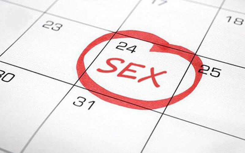 Nam giới nên quan hệ tình dục với tần suất phù hợp