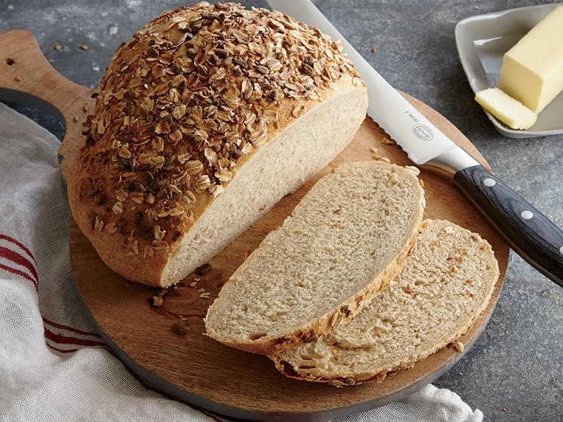 Trong bánh mì Multigrain chứa rất nhiều chất xơ, khoáng chất