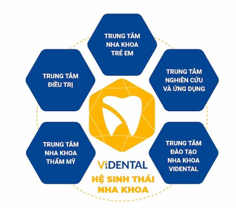 Vidental Clinic nằm trong Hệ sinh thái nha khoa phức hợp hàng đầu Việt Nam