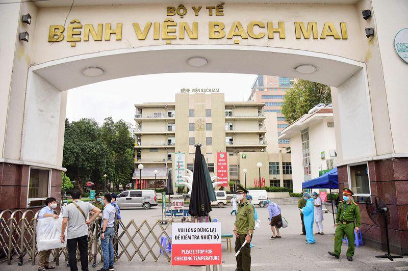 Bệnh viện Bạch Mai là bệnh viện đa khoa hàng đầu cả nước
