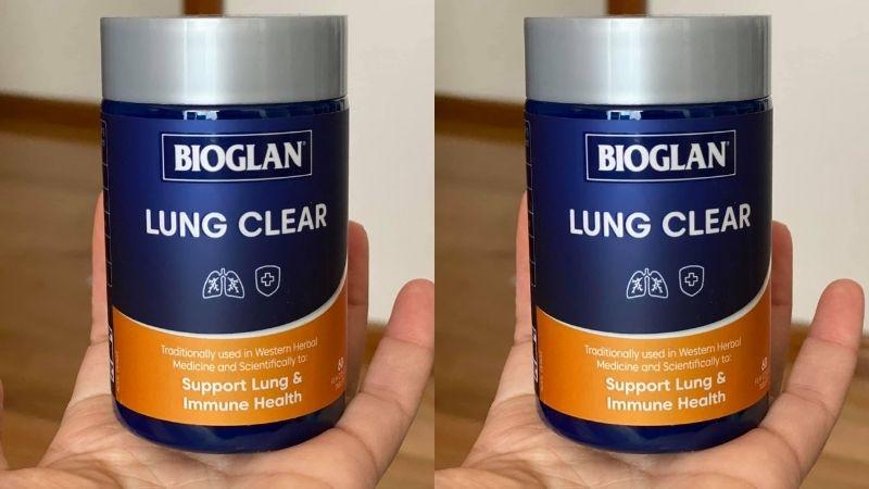 Bạn có thể tham khảo sử dụng Bioglan Lung Clear