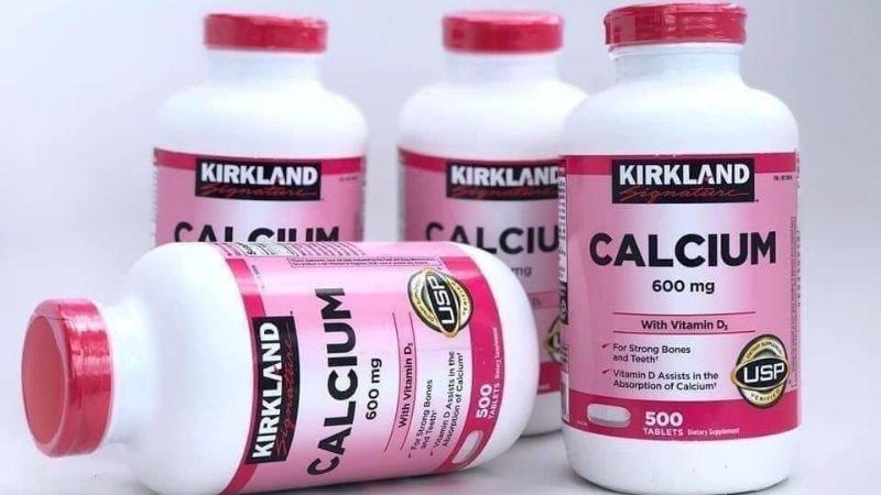 Thuốc bổ sung canxi cho người lớn Kirkland