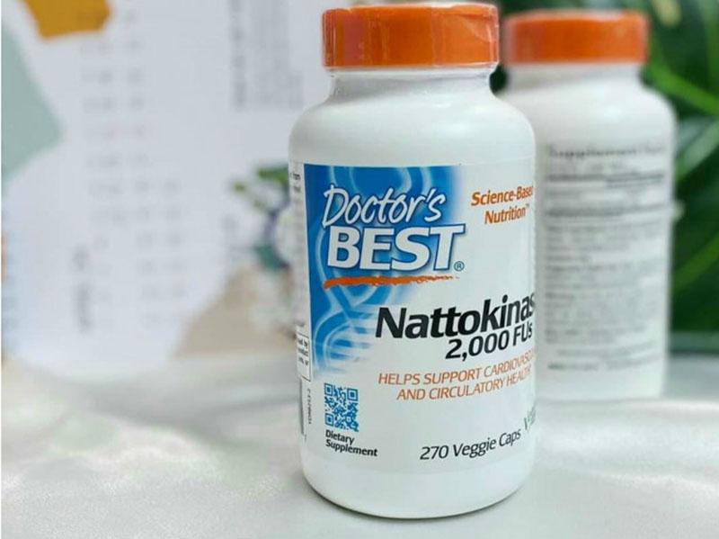 Thực phẩm chức năng bổ tim Doctor's Best Nattokinase