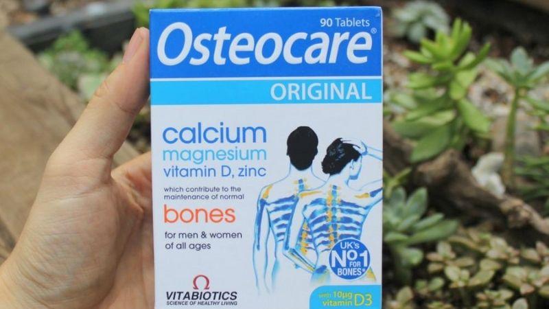 Bổ xương khớp Osteocare Original Canxi UK
