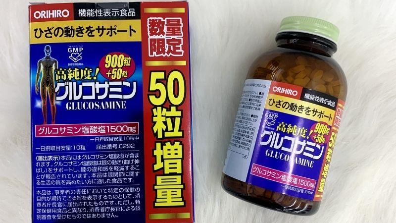 Glucosamine của Orihiro chăm sóc tốt cho sức khỏe xương khớp