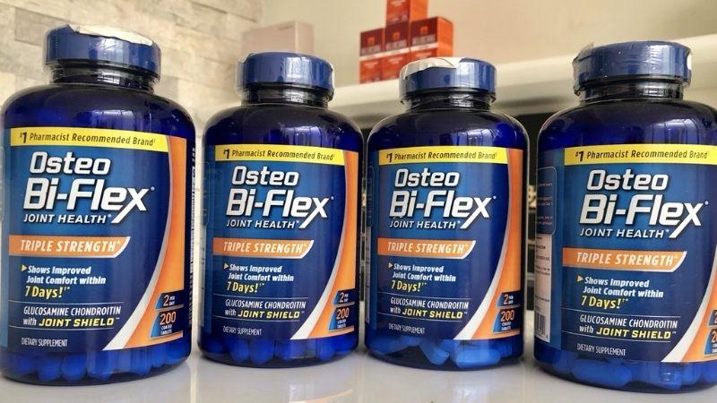 Cung cấp nguồn dưỡng chất thiết yếu cho xương khớp từ Osteo Bi-Flex