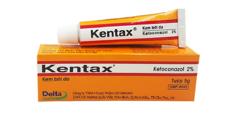 Thuốc trị hắc lào Kentax