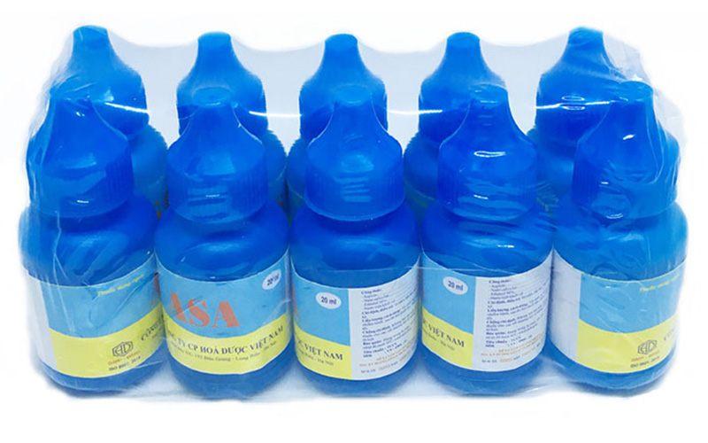 Asa là loại thuốc trị hắc lào dạng cồn lỏng