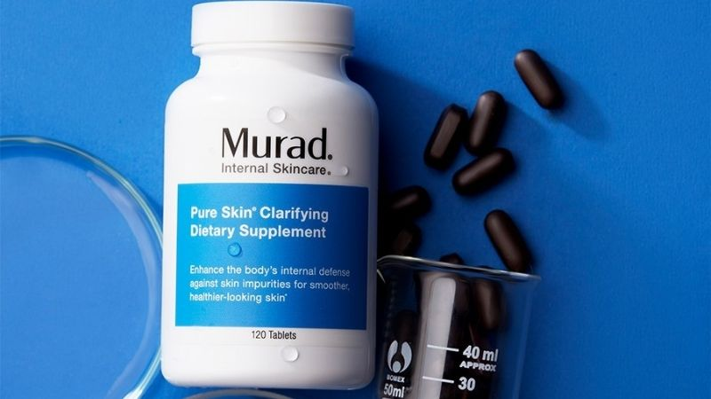 Đẩy lùi mụn bằng viên uống Murad