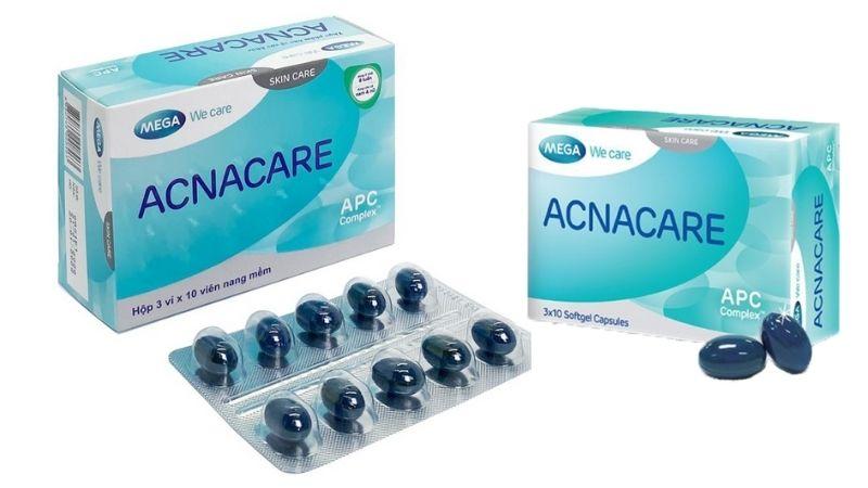 Acnacare điều tiết bã nhờn và giảm mụn hiệu quả